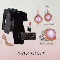 Need a Valentine's Day Date night inspo. from is the perfect add on piece! Valentines Day Date, Blush Roses, Night Out, Outfits, Style, Fashion, Swag, Moda, Pink Roses