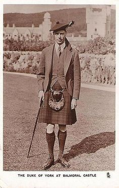 King George VI. My favorite British monarch. <3