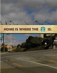 Advertising Design Assignment- Final Media Campaign (Billboard for Starbucks)