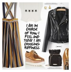 """Street Style"" by metisu-fashion ❤ liked on Polyvore featuring STELLA McCARTNEY, Lanvin, polyvoreeditorial, polyvoreset and metisu"