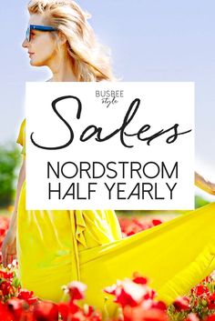 Nordstrom Half Yearly Sale Picks including this gorgeous yellow silky Bardot dress