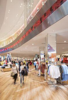 Uniqlo Chadstone - Red Design Group Red Design, Department Store, Uniqlo, Retail, Concept, China, Group, Game, Venison