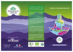 Triptico Exterior Organic India #zurcetraud #organicindiaemportugal #zurcetraudbio