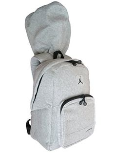 0c802c5b4a2e90 Nike Air Jordan Hood Backpack in Gray and Black for Men and Women
