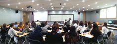 서울여대 언론영상학부 2013 커뮤니케이션 테크놀로지 입문 세미나 풍경 / Seoul Women's U students hosting a seminar