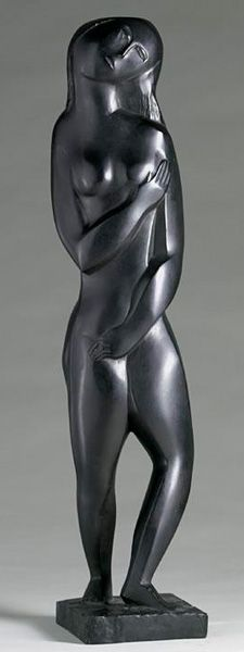 Ossip Zadkine, Virginité, bronze, 1926.