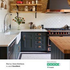 Small Kitchen Plans, Open Plan Kitchen Dining Living, Industrial Kitchen Design, Interior Design Kitchen, Home Decor Kitchen, Home Kitchens, Kitchen Ideas, Kitchen Shelf Inspiration, My New Room