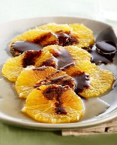Carpaccio de Laranja com Chocolate