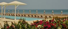 The swimming pools at the Millennium hotel, A'Mussanah, Oman, 2012.