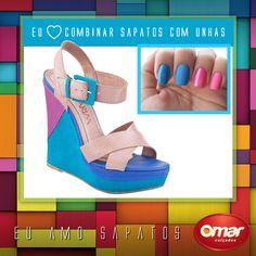 #shoes #colors #pink #blue #fashion