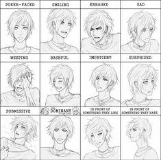manga expressions