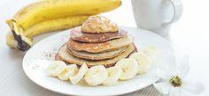 Pancakes tropicali di avena e banana