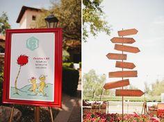A Dr. Seuss inspired wedding... such a fun idea! Photo by @matthewmorgan