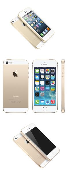 I Phone 5S_Gold_A nice overview of how the iPhone 5s looks in the new Gold colorway