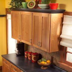 Kitchen cabinets remake on Pinterest  Kitchen Cabinets, Cabinets and ...