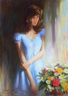 Portrait Paintings by Andrei Markin | Cuded