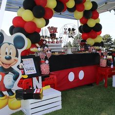 - To one of our Mickey Mouse Inspired events! Mickey 1st Birthdays, Mickey Mouse Baby Shower, Baby Boy 1st Birthday Party, Mickey Mouse Clubhouse Party, Mickey Mouse Clubhouse Birthday, Mickey Mouse Parties, Mickey Birthday, Mickey Party, Pirate Party