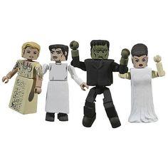 Universal Monsters Minimates Frankenstein Action Figures @ niftywarehouse.com #NiftyWarehouse #Frankenstein #Halloween #Horror #HorrorMovies #ClassicHorror #Movies