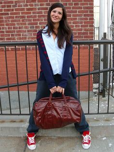 Outfits with Sweatpants can be cute and creative... http://www.ivillage.com/how-wear-sweatpants-public/5-b-149815#149825