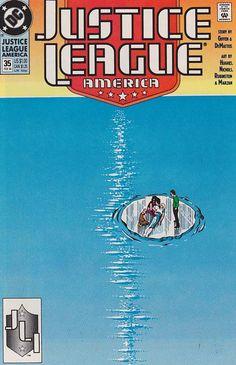 Justice League America #35 Near Mint $2.75
