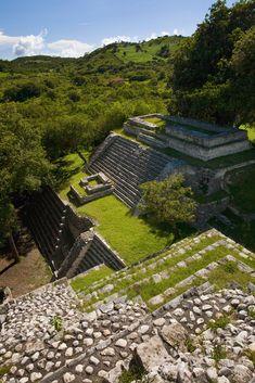 Mayan Ruins of Tenam Puente, Chiapas, Mexico