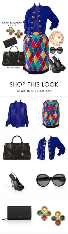"""""""Yves St. Laurent Rive Gauche #2"""" by florymcintee ❤ liked on Polyvore featuring Yves Saint Laurent and YSL RIVE GAUCHE"""