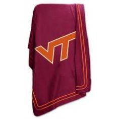 big sale 38f41 c05df Virginia Tech Hokies Classic Fleece Classic, Virginia Tech Hokies, Fleece  Throw, Logos,