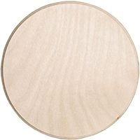 6 3 4 Quot Circle Wood Plaque 1 99 Perfect For Diy Cupcake