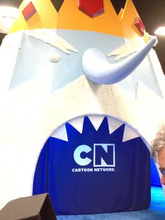 Adventure Time's Ice King (Cartoon Network booth)