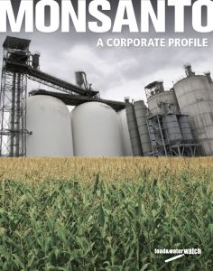 Check out this SCARY report on #Monsanto and its history from Food & Water Watch. #GMOs.  { PICTURE }    CANCER DEVELOPING FACTORY.