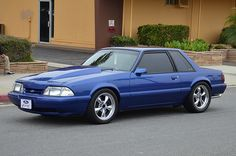 Awesomely done Fox Body Coupe Car. Luv the color & the fact that it is customized just enough, without being gouty.