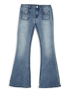 7 For All Mankind - Girl's Ginger Flared Jeans