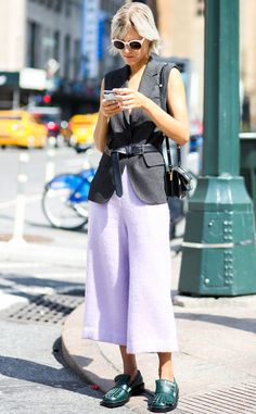 Linda Tol from Street Style at New York Fashion Week Spring 2016 | E! Online