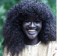 "Meet Melanin Goddess Khoudia Diop - ""She says ""they nicknamed me Darky, daughter of the night, mother of the stars"""