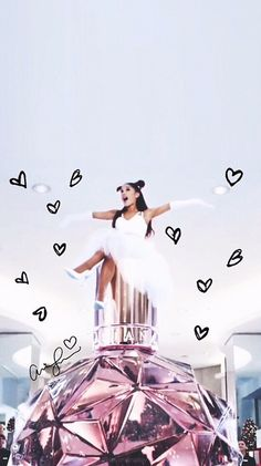 ✔ Wallpaper Lockscreen , key board and home lockscreen Ariana Grande