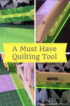 Quilters tools - This is a must have quilting tool. I have been using for over 4 years now. It's one of my most used quilting tools in my sewing room. Quilting Tools, Quilting Tutorials, Craft Tutorials, Sewing Tutorials, Quilt Blocks Easy, Easy Quilts, Diy Sewing Projects, Sewing Projects For Beginners, Jellyroll Quilts