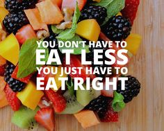 eating tips, how to lose weight with nutrition, you don't have to less, portion control