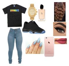 """"""""""" by kekecardoza ❤ liked on Polyvore featuring Michael Kors, Giorgio Armani, women's clothing, women's fashion, women, female, woman, misses and juniors"""