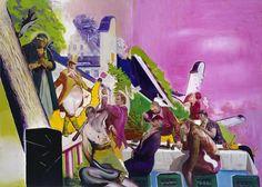 Neo Rauch is my new hero. He's also Ed Fella's favorite painter!