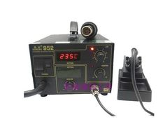 263.64$  Watch now - http://ali07f.worldwells.pw/go.php?t=32664267113 - 6pcs/lot New 270W Gordak 952 Soldering Station + Hot Air Heat Gun 2 in 1 SMD BGA Rework Station
