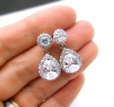 Hey, I found this really awesome Etsy listing at https://www.etsy.com/listing/116237335/bridal-wedding-jewelry-wedding-earrings
