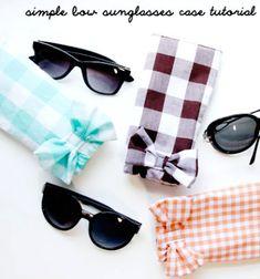 Ezek a szuper, egyszerűen és gyorsan megvarrható gumis és masnis napszemüveg tokokremekül megvédik majd a napszemüveged (vagy a szemüveged) a karcolódástól, ráadásul megvarrni is rendkívül egyszerű őket, így akár kezdő ...