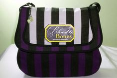 The Blood&Bones bag on Etsy, designed by Forever Goth Blood And Bone, Womens Purses, Gothic Fashion, Bag Making, Bones, Diaper Bag, Shoulder Strap, Buy And Sell, Womens Fashion