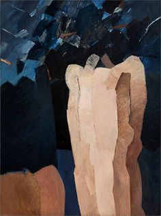 Keith Vaughan - Two Figures, 1966