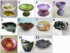 Polymer Clay Artists Guild of Etsy (PCAGOE): May Challenge Bowls
