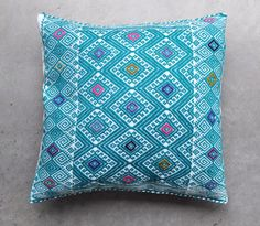 MEXICAN PILLOW COVER - On Sale - Handwoven in Chiapas - Free Shipping