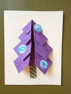 Origami Xmas cards!!