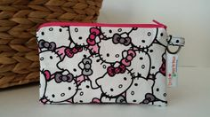 Hello Kitty Zipper Phone Pouch Coin Purse by LittleMissPoBean.  Thank you for my cute Hello Kitty pouch @tinkerballa  my girls loved it!!