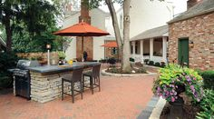Housetrends Featured Professional Dayton The Site Group - Dayton - Landscaping - Backyard Preserves History