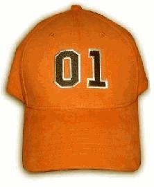 Dukes of Hazzard Orange Fitted Flexfit Hat